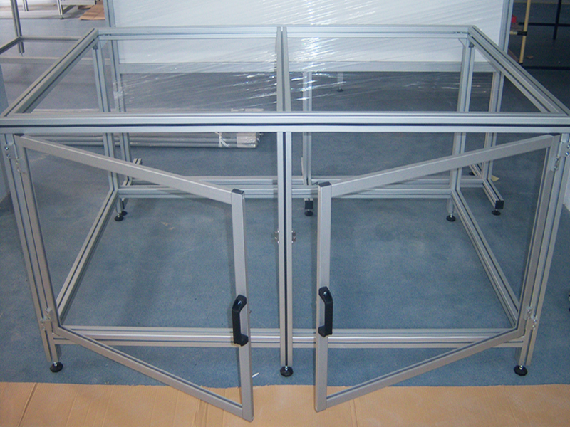 MACHINE FRAMES AND HOUSING<br />Protective housing