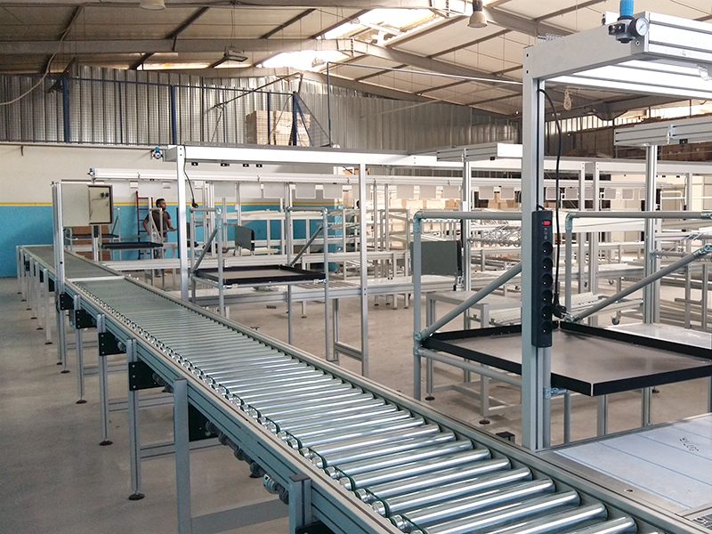 LINES AND INTEGRATED PRODUCTION UNITS<br />Assembly line