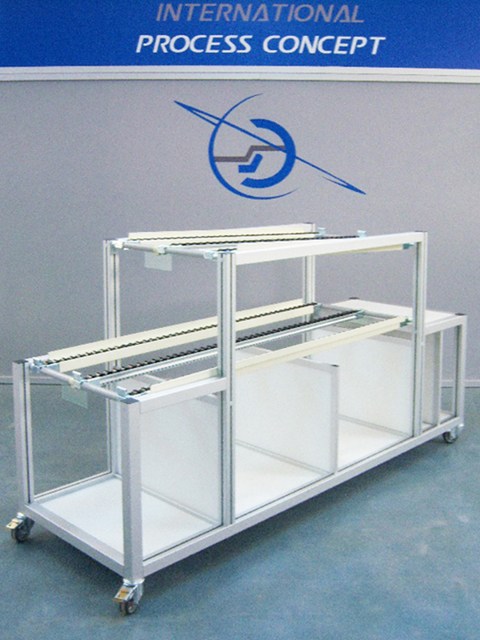 TROLLEYS AND HANDLING MATERIALS<br />Packing rack